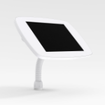 Bouncepad Flex   Samsung Galaxy Tab A 10.1 (2019)   White   Covered Front Camera and Home Button  