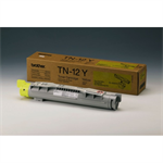 Brother TN-12Y Toner yellow, 6K pages @ 5% coverage