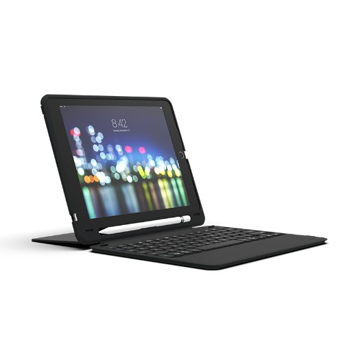 ZAGG Slim Book Go mobile device keyboard QWERTY UK English Black Bluetooth