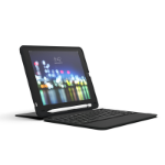 ZAGG Slim Book Go mobile device keyboard Black QWERTY UK English Bluetooth