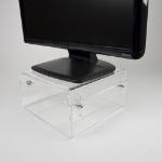 Newstar NSMONITOR40 Flat panel Tischhalter Transparent
