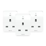 TP-LINK Kasa Smart Wi-Fi Plug Slim (3-Pack) smart plug White