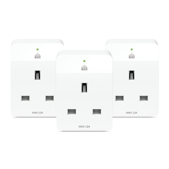 TP-LINK Kasa Smart Wi-Fi Plug Slim (3-Pack) smart plug White