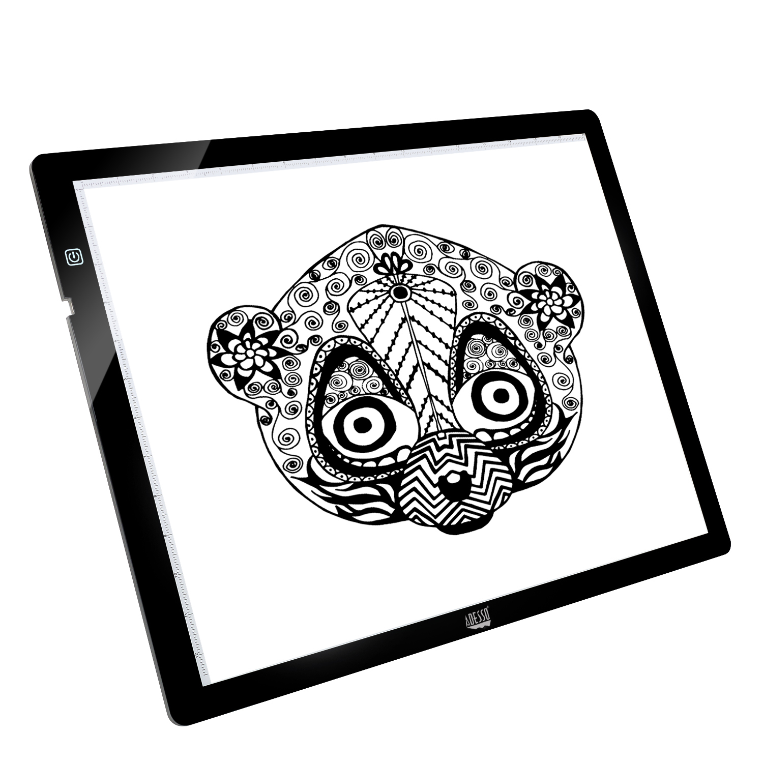 Adesso CyberPad P2 304.8 x 431.8mm Black graphic tablet