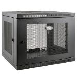 Tripp Lite 9U SmartRack Low-Profile Wall-Mount Rack Enclosure Server Cabinet Switch-Depth-Plus