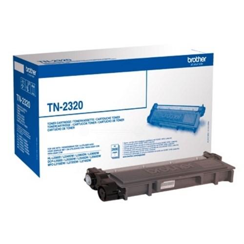 Brother TN-2320 Toner black, 2.6K pages
