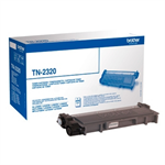 Brother TN-2320 Toner black, 2.6K pages