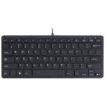 R-Go Tools R-Go Compact Keyboard, QWERTY (US), black, wired