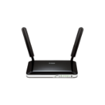 D-Link DWR-921/B wireless router Fast Ethernet 3G 4G Black