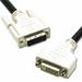C2G 1m DVI-D M/F Dual Link Digital Video Extension Cable 1m DVI-D DVI-D Black DVI cable