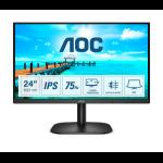 "AOC B2 24B2XDA LED display 60.5 cm (23.8"") 1920 x 1080 pixels Full HD Black"