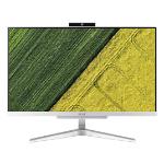 """Acer Aspire C24-320 60.5 cm (23.8"""") 1920 x 1080 pixels 7th Generation AMD A9-Series APUs 8 GB DDR4-SDRAM 1128 GB HDD+SSD All-in-One PC Windows 10 Home Wi-Fi 5 (802.11ac) Silver"""