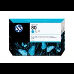 HP 80 Original Cyan 1 Stück(e)