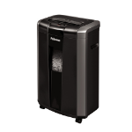 "Fellowes Powershred 76Ct paper shredder Cross shredding 60 dB 9.02"" (22.9 cm) Black, Silver"