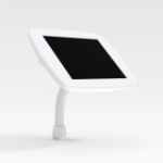 Bouncepad Flex | Apple iPad 6th Gen 9.7 (2018) | White | Covered Front Camera and Home Button |