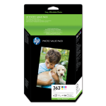 HP Foto-Value-Paket der 363-Serie -150 Blatt/10 x 15 cm