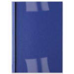 GBC LeatherGrain Thermal Binding Covers 4mm Royal Blue (100) binding cover