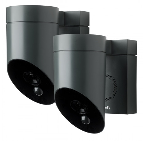 Somfy Outdoor camera Duo Pack Grey