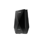 Netgear Nighthawk X6 Network transmitter Black 10, 100, 1000 Mbit/s
