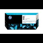 HP 81 Black DesignJet Dye Printhead and Printhead Cleaner