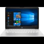 """HP Stream 11-ak0002na Silver Notebook 29.5 cm (11.6"""") 1366 x 768 pixels Intel® Celeron® N4000 2 GB DDR4-SDRAM 32 GB eMMC"""