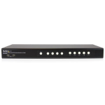 StarTech.com 4 Port DVI USB KVM Switch with Dual DVI Console and Quad-View 4-in-1 Display