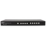 StarTech.com 4 Port DVI USB KVM Switch with Dual DVI Console and Quad-View 4-in-1 Display SV431DVIUAQV