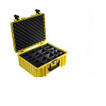 B&W Type 6000 equipment case Briefcase/classic case Yellow