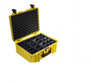 B&W Type 6000 equipment case Briefcase/classic case Yellow