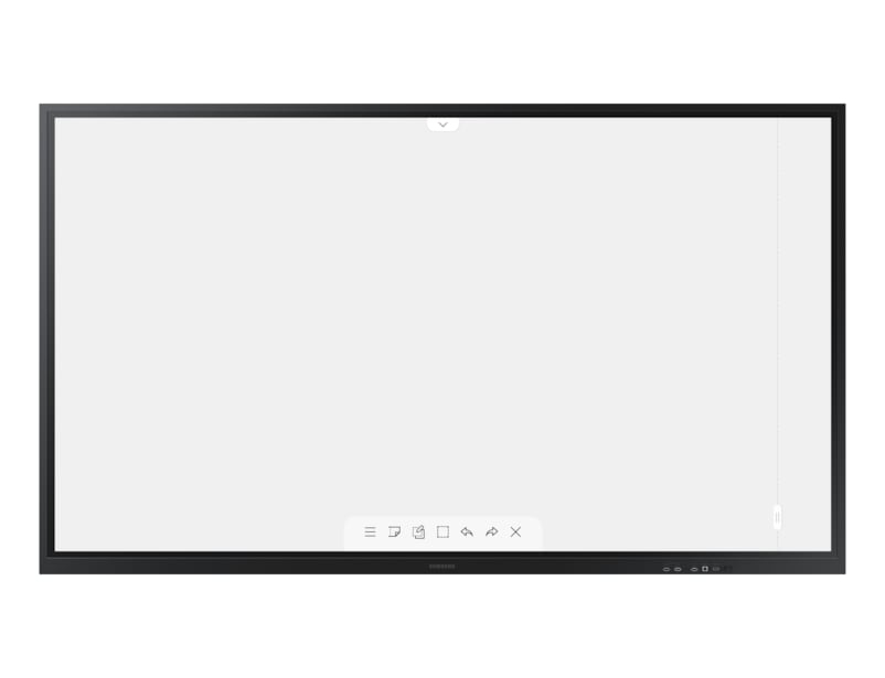 "Samsung WM85R interactive whiteboard 2.16 m (85"") 3840 x 2160 pixels Touchscreen Black"