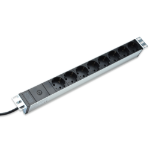 Digitus DN-95410 8AC outlet(s) 1U Black power distribution unit (PDU)