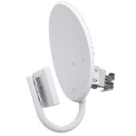 Ubiquiti Networks NanoBridge satellite antenna White