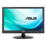 "ASUS VT168N point touch monitor 39.6 cm (15.6"") 1366 x 768 pixels Black Multi-touch"