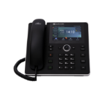 AudioCodes 450HD IP phone Black Wired handset 8 lines TFT