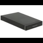 "DeLOCK 47226 HDD/SSD enclosure 2.5"" Black storage drive enclosure"