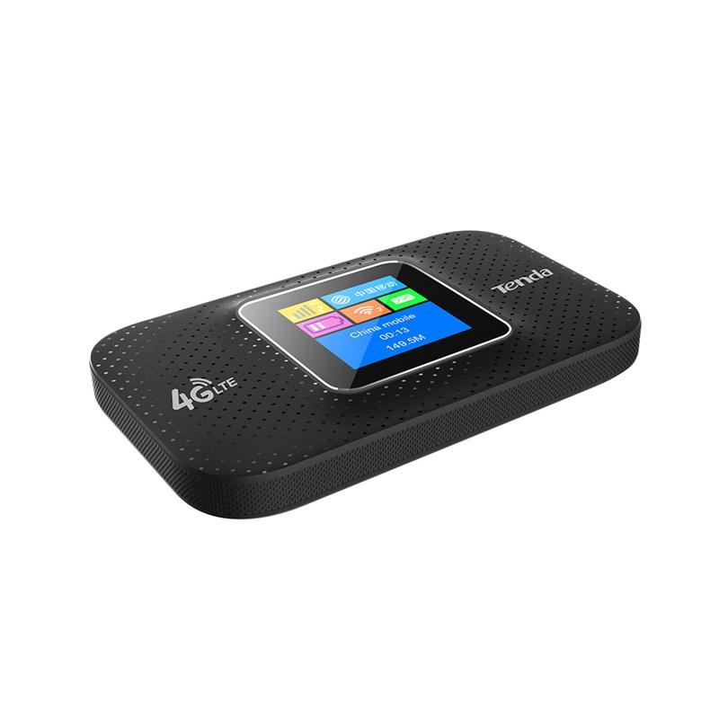 Tenda 4G185 router inalámbrico Banda única (2,4 GHz) 3G 4G Negro