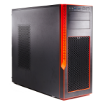 Supermicro SuperChassis GS50-000R Midi Tower Black,Red