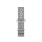 Apple MQVA2ZM/A Band Silver, White Nylon