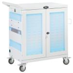 Tripp Lite CSC32USBWHG portable device management cart/cabinet White
