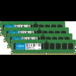 Crucial 16GB (4 x 4GB) DDR4-2666 ECC UDIMM 16GB DDR4 2666MHz ECC memory module