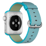 APPLE ^38MM SCUBA BLUE NYLON BAND