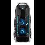 Acer Predator Orion 9000-600 I82070-01 Intel® 8ste generatie Core™ i7 i7-8700K 16 GB DDR4-SDRAM 2512 GB HDD+SSD Zwart Toren PC