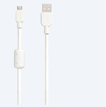 Sony CP-AB150 USB cable 1.5 m USB A Micro-USB B White
