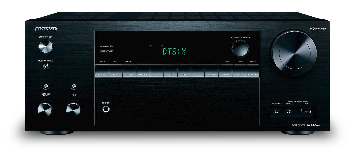 ONKYO TX-NR676 100 W 7.2 channels Surround Black