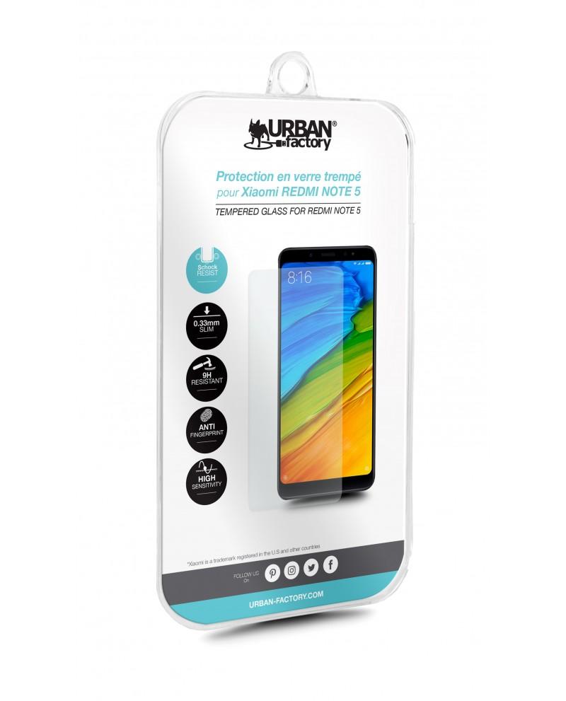 Urban Factory TGP73UF protector de pantalla Xiaomi Redmi Note 5 1 pieza(s)
