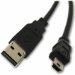 Intermec CN4 USB-A to USB-Mini B Plug Cable 2m