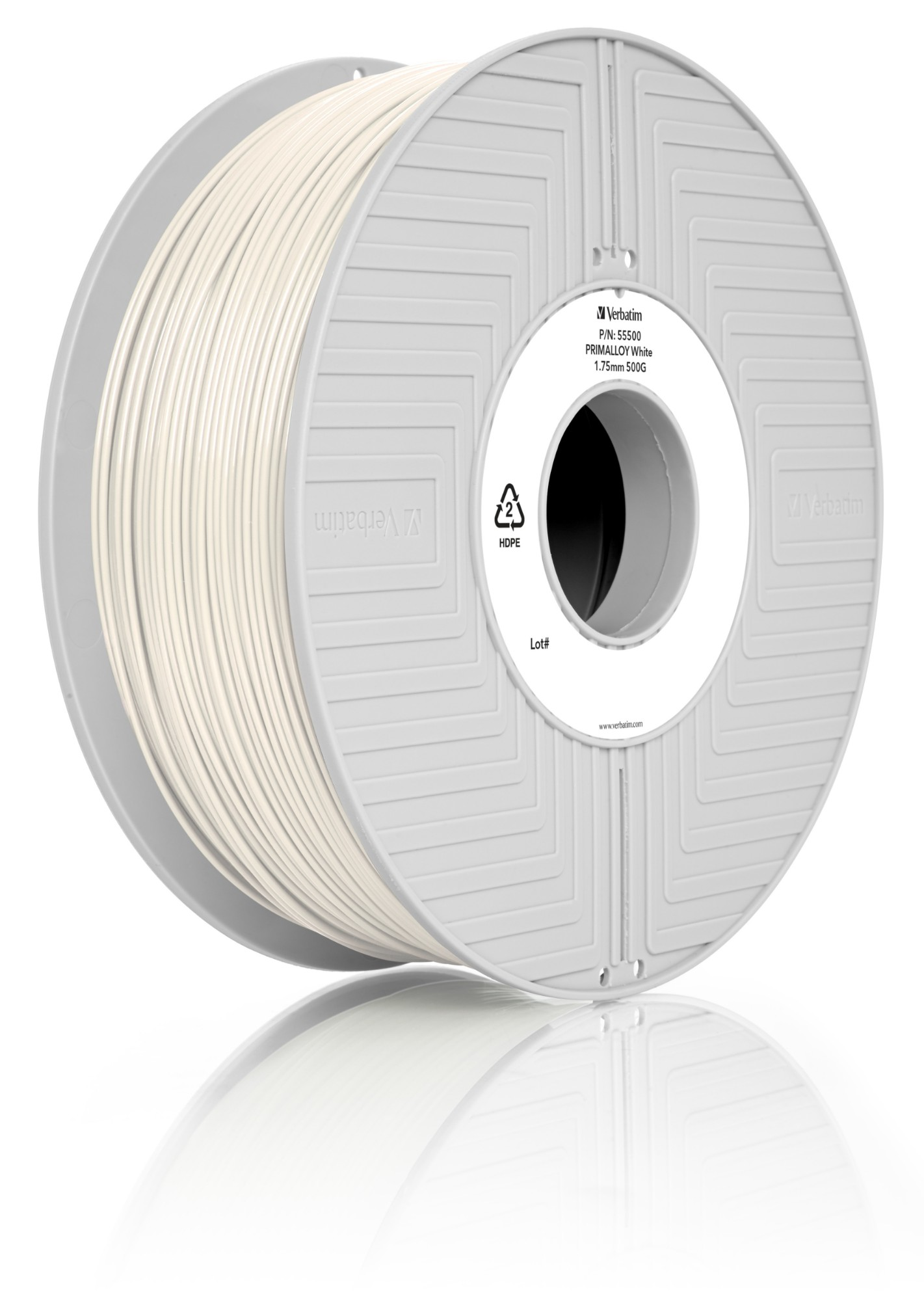 3d Printer Filament Primalloy 1.75mm 500g White