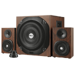 Trust Vigor 2.1channels 50W Black,Wood speaker set