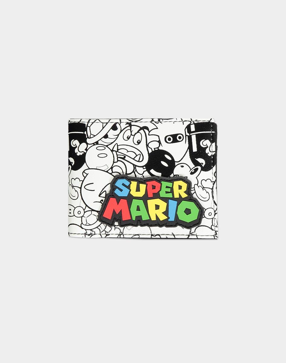 Nintendo Super Mario AOP Bifold wallet Unisex Multicolor