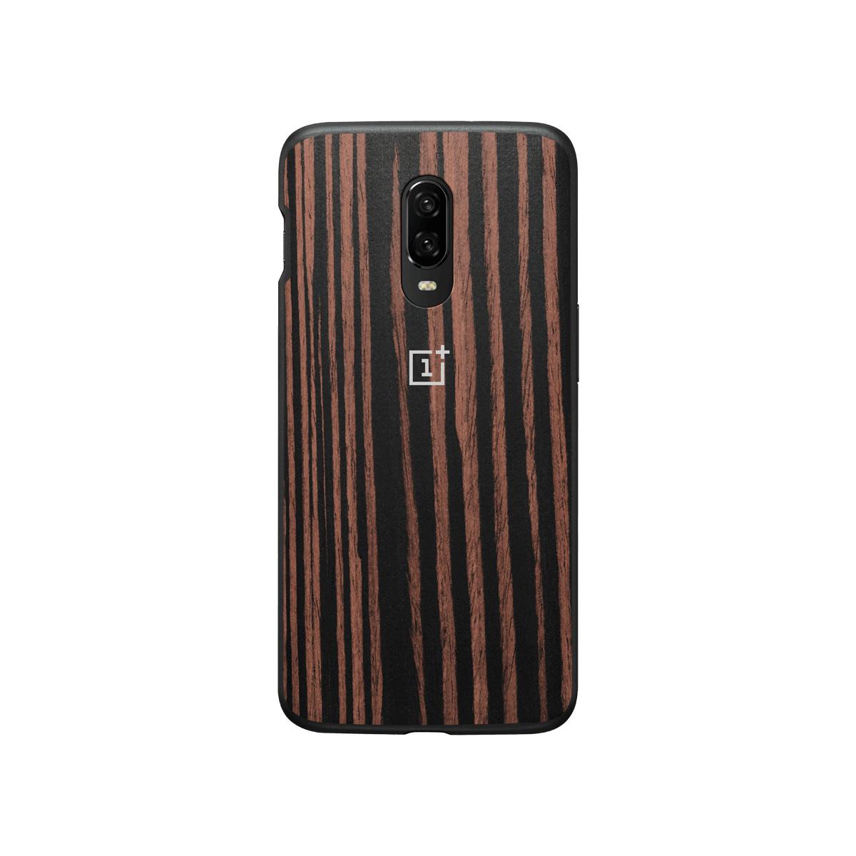 "OnePlus 5431100065 mobiele telefoon behuizingen 16,3 cm (6.41"") Hoes Hout"